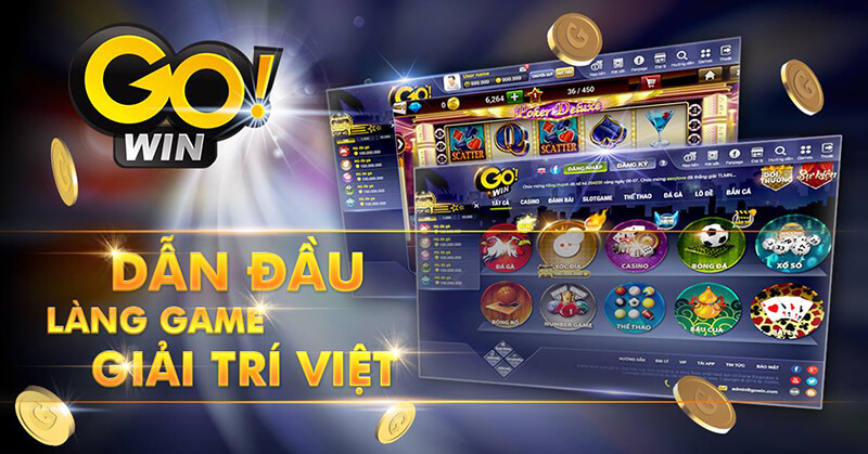 Go win là một cổng game được tích hợp rất nhiều thể loại đánh bài