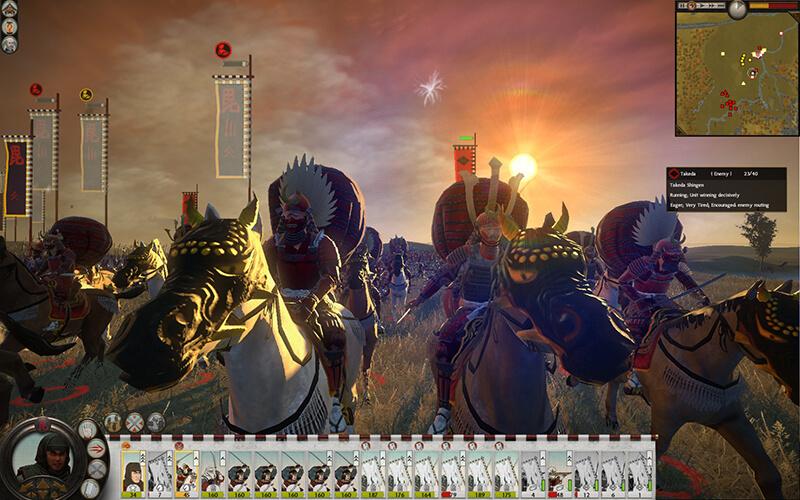 game chiến thuậtTotal War Shogun 2
