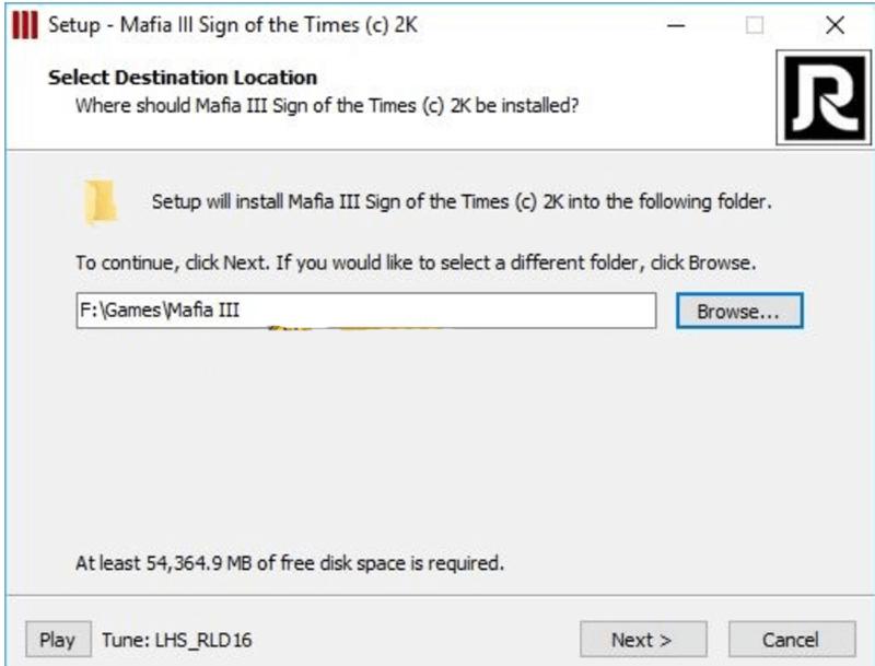 Cách cài đặt game mafia 3 bước 2
