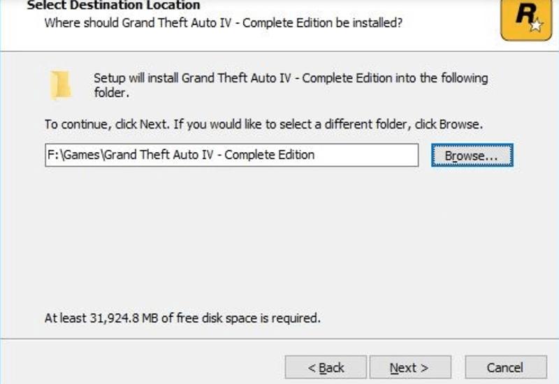 cài đặt game GTA 4 Full Crack bước 3