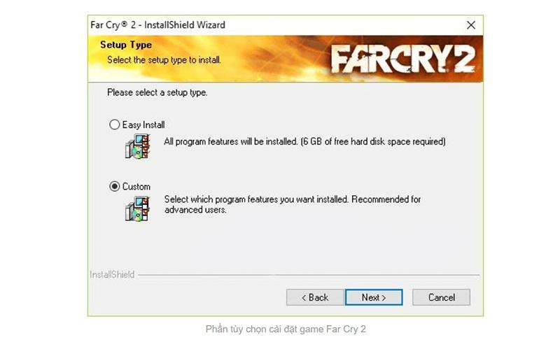 Bước 3 cài đặt game far cry 2