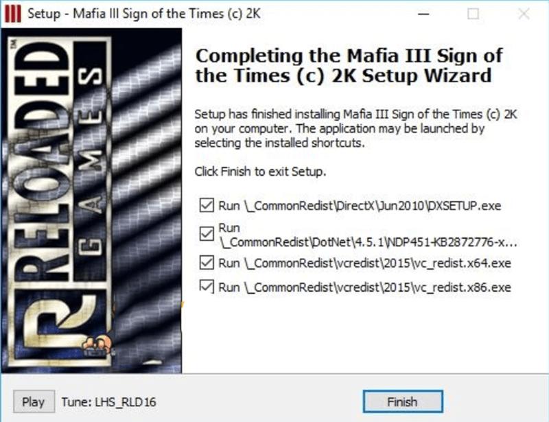 Cách cài đặt game mafia 3 bước 4