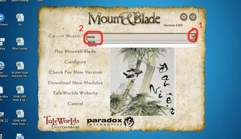 cài đặt gamemount and blade warband việt hóa bước 5