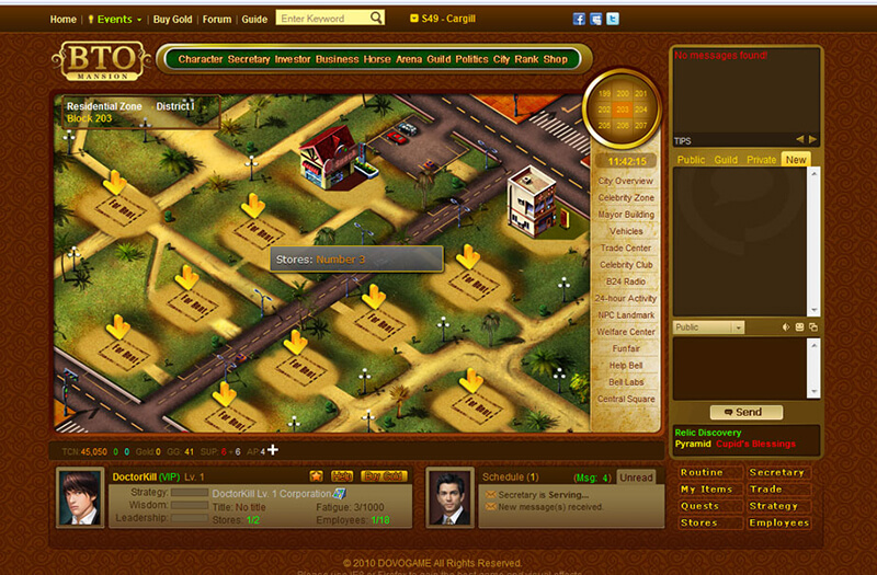 Game kinh doanh Business Tycoon Online