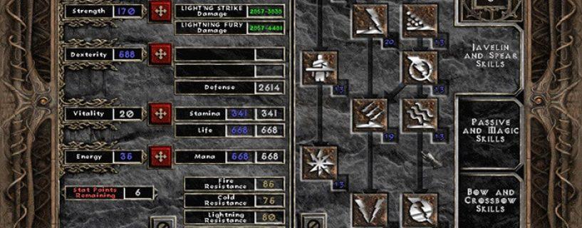 Hướng dẫn cách build các char trong diablo 2 đầy đủ nhất