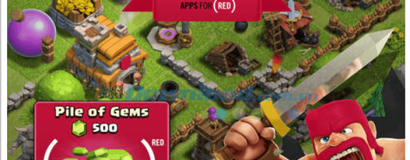 Cách hack Gems Clash Of Clan cho Android/IOS (thành công)