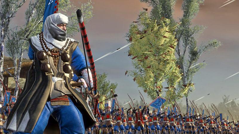 đồ họa Total War shogun 2