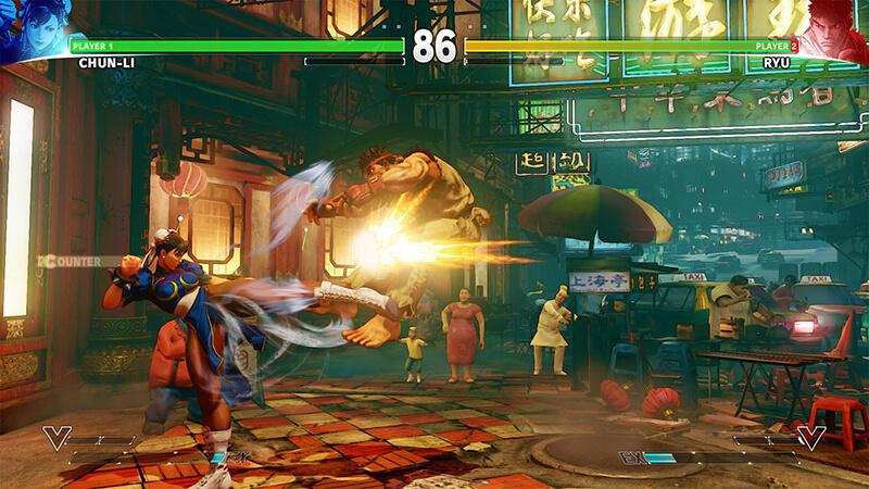 cài đặt Street Fighter V fshare cho PC