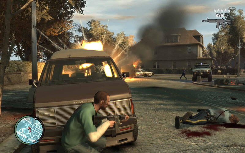 Game kinh điển Grand Theft Auto IV