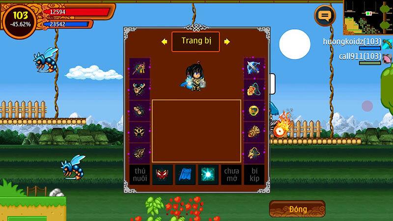 Tải game phiên bản Mod Full cho Java miễn phí