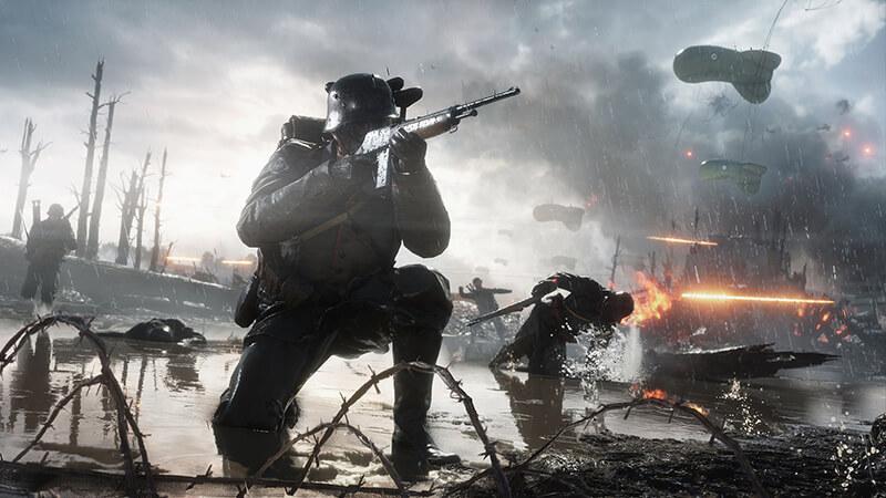 Bối cảnh chính của game xoay quanh cuộc chiến tranh thế giới lần thứ nhất