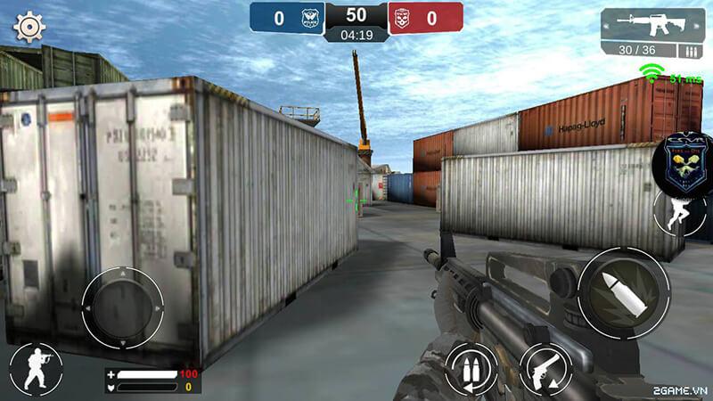 Combat Shooter Mobile - game bắn súng mượt mà