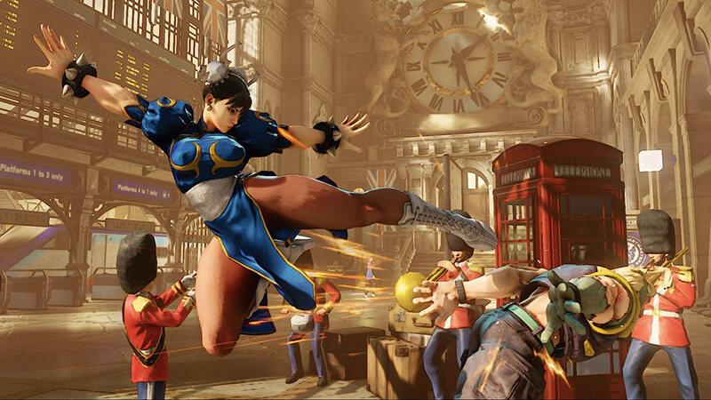 Cấu hình yêu cầu game Street Fighter 5