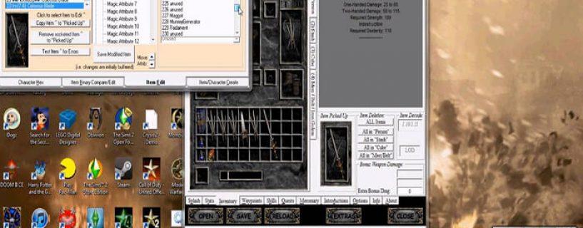 Hướng dẫn sử dụng Hero Editor Diablo 2 chi tiết nhất