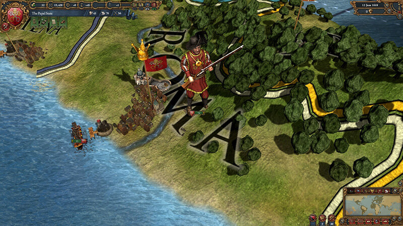 Tựa game chiến thuật Europa Universalis IV