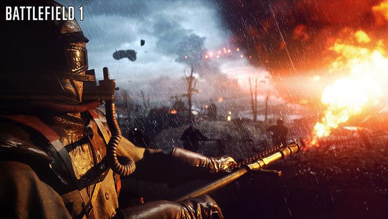 Battlefield 1 trở lại thời kỳ chiến tranh của thế giới năm 1914