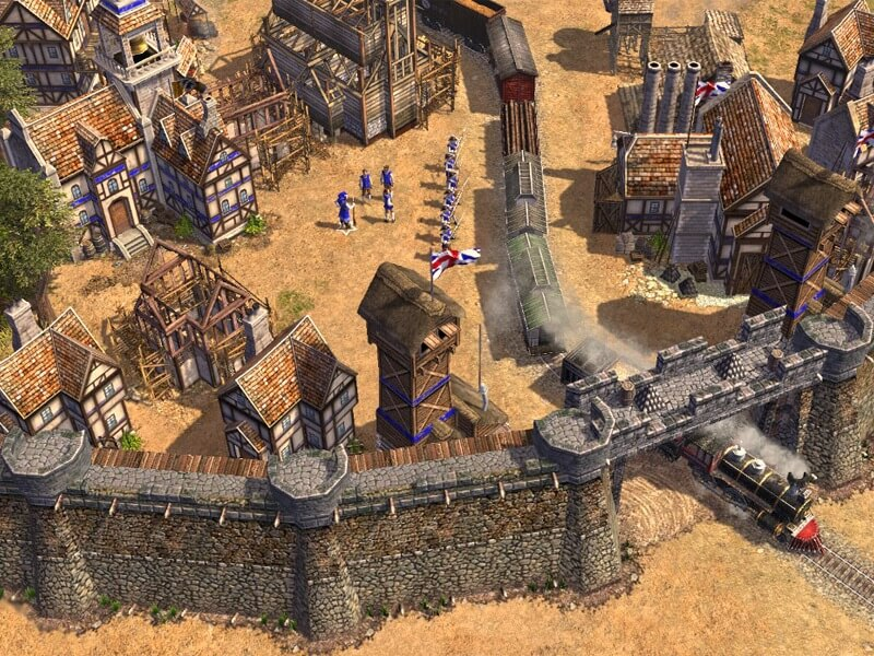 Các thời kỳ trongAge of Empires III