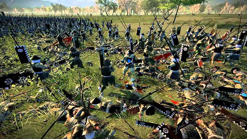 các trận kinh hoàng trong Total War Shogun 2
