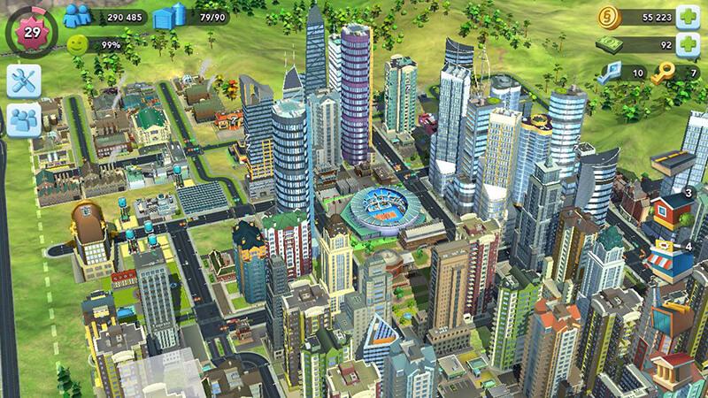 Cách xây nhà trong Simcity Buildit giúp bạn dễ quản lý