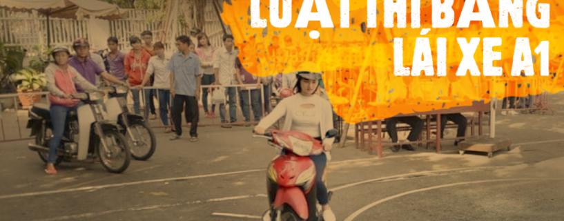 [CẬP NHẬT MỚI] Luật học thi bằng lái xe máy A1